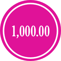 donate 1000.00