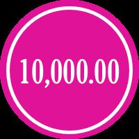 donate 10,000.00
