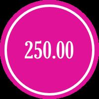 donate 250.00