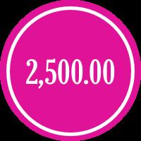 donate 2500.00