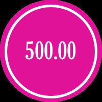 donate 500.00