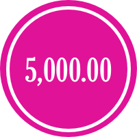 donate 5,000.00