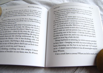 interior view of The Dark Space fine first edition