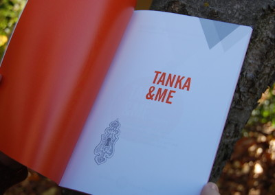 Tanka and Me - fine first interior title page