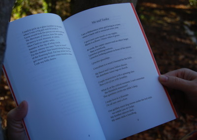 Tanka and Me - fine first edition - interior poem