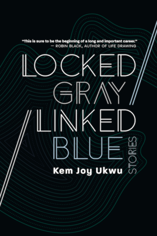 Locked Gray / Linked Blue by Kem Joy Ukwu
