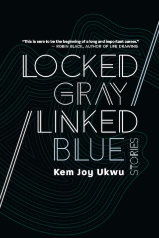Locked Gray / Linked Blue by Kem Joy Ukwu