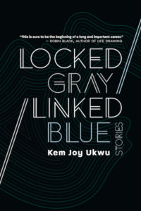 Locked Gray Linked Blue by Kem Joy Ukwu