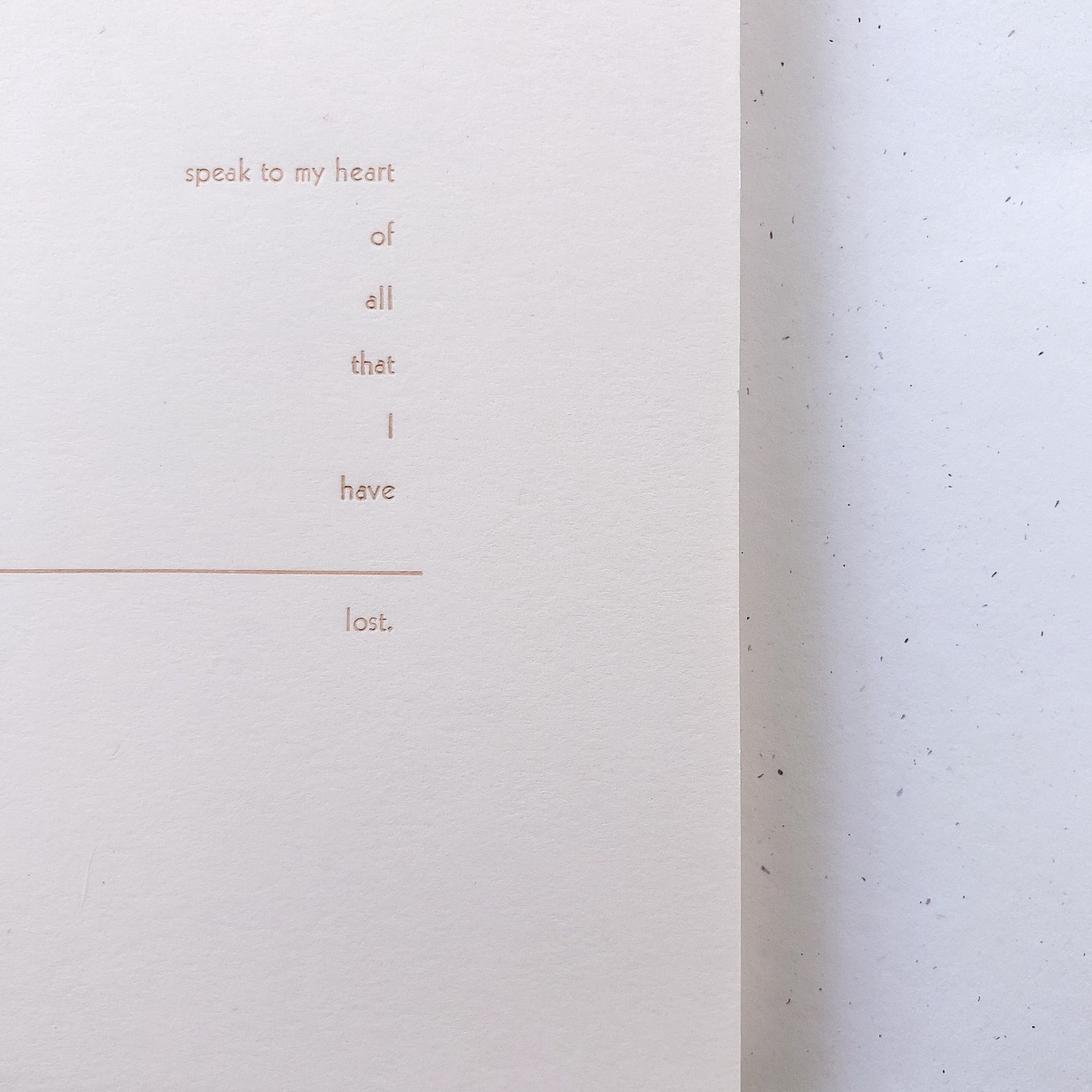 This Is Still Life Broadside 2